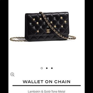 CHANEL MADEMOISELLE WALLET ON A CHAIN